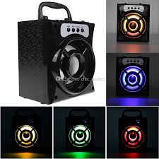 speakers with subwoofer. best ms 132bt big speakers subwoofer bluetooth portable outdoor rechargeable bass speaker with led light mp3 audio player package technics