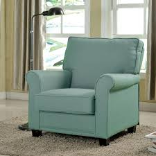 Furniture of America Charmayne Padded Linen Arm Chair Free