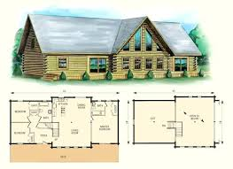 Awesome 4 Bedroom Cabin Plans Log Cabin With Loft Floor Plans 8 Majestic And Garage 4  Bedroom . 4 Bedroom Cabin Plans ...