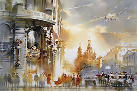 olga litvinenko painting holidays spain dalvaro art
