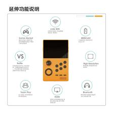 Máy Super Retro Handheld Game Station Android Pandoras full Game giả lập  32GB