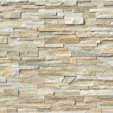 stone wall tile. Plain Stone MSI Golden Honey Ledger Panel 6 In X 24 Natural Quartzite Wall Tile 5  Cases  30 Sq Ft Pallet On Stone N