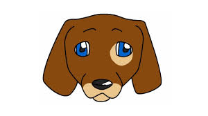 dog face drawing for kids. Plain Kids How To Draw A Cute Dog Face For Beginners Or Kids Drawing Tutorial   YouTube Inside For Kids I