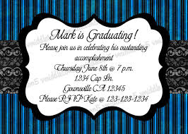 birthday and graduation invitations