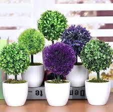 decorative plants for office. Decorative Plants For Office Fake Desk Artificial Green Flowers Bonsai Cheap Creative Rose Ornaments Wedding Decoration T