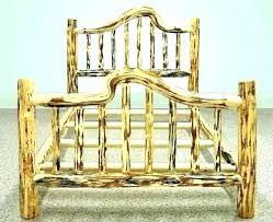 Cedar Log Bed Frame Log Bed Frame Queen Log Bed Frame Queen Log Bed ...
