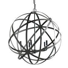 chandelier orb black orb chandelier large metal orb chandelier world market black wrought iron globe chandelier