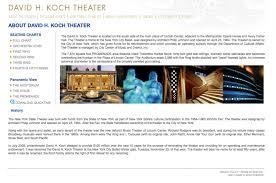 David H Koch Theater Brand Bean