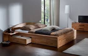 Bedroom : Brown Low Profile Wooden Bed Frame 2018 Upholstered Queen ...