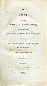 climate human population and human survival what the deep past the title page to thomas malthus s famous essay on population