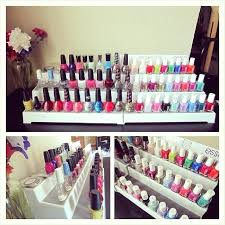 nail polish organizer diy pictures with storage inspirations 2