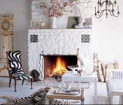 modern fireplace dressed in stone 25 stone fireplace designs to warm your home