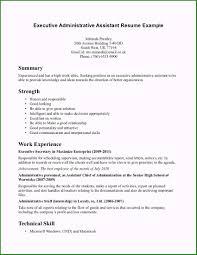Executive Assistant Resume Objective Unique Definition