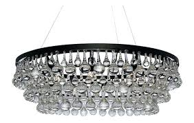 crystal drop chandelier crystal drop chandelier table lamp from interiors saint
