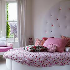bedroom ideas for girls. Perfect Girls Luxurious Girly Bedroom With Pink Bedding And Headboard To Bedroom Ideas For Girls