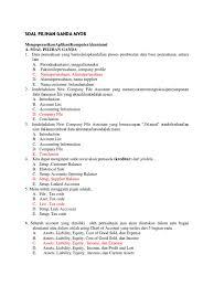 Contoh soal dan jawaban pengantar akuntansi semester 1 pilihan ganda. 15 Contoh Soal Akuntansi Perusahaan Dagang Pilihan Ganda Kumpulan Contoh Soal