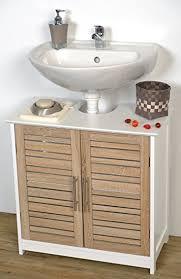 ... Skillful Ideas Under Sink Cabinets Bathroom Amazon.com EVIDECO 9900306  Free Standing Non Pedestal ...