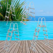 Dabei handelt es sich um ein festes gestell, das aus zwei seitlichen stangen besteht, an die pool treppe bietet ihnen bei der benutzung des schwimmbeckens besonders viel komfort. Kunststoffstufen Mehr Als 100 Angebote Fotos Preise Seite 2