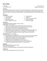 Best Merchandising Execution Associate Resume Example Livecareer