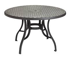 popular of round patio tables cordoba 48 in round dining table with metal legs etampt distributors