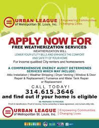 Flyer Programs Windows Weatherization St Louis City Ulstl