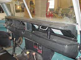 series iii 88 refurbishment inside we have replaced a few select dash pieces to freshen up the interior we got rid of the old cracked dash top and rusted out lower section and as you
