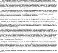 cortez michael descriptive essay of my grandparents house  descriptive essay of my grandparents house college essay 732 words