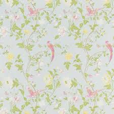 trendy childrens bedroom chandeliers summer palace wallpaper duck egg laura ashley