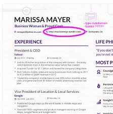 Yahoo Ceo Resume
