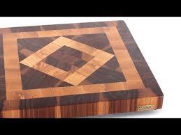 Cutting Board Patterns Classy Square In A Square End Grain Cutting Board YouTube
