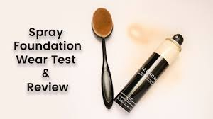 sephora perfection mist airbrush foundation review demo 12 hr wear test csidephoto