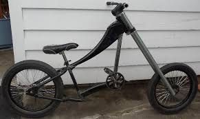 chopper bicycles your own creations only and pedal powered not
