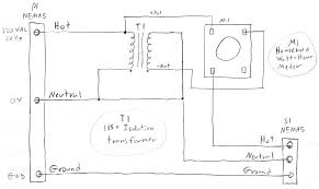 kvar energy controller report 1 Phase Outlet Diagram schematic for operation of home watt hour meter from the single phase, 120v wall outlet on the left the socket on the right is the output which is also a Light Switch Wiring Diagram