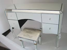 best glass vanity table example — table designs