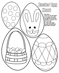 Small Picture Easter Egg Hunt Coloring Page crayolacom