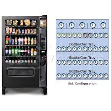 Coke Can Vending Machine Simple Buy Refrigerated Snack And Soda Vending Machine 48 Selections