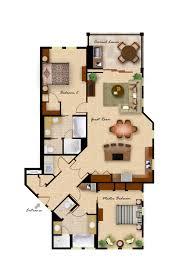 Perfect 2 Bedroom/2 Bathroom Expanded Floor Plan