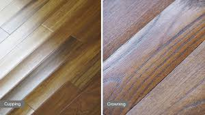 buckling is one of the most extreme reactions to moisture that can occur with hardwood flooring it happens when the floor expands beyond expansion gaps and
