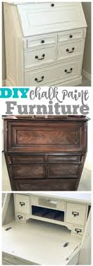 how to refinish an old piece of furniture with chalk paint a diy tutorial that