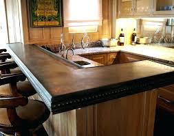 decoration rustic bar top amazing cool ideas custom hand glazed tile timber wood outdoor diy
