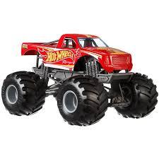 Hot Wheels Monster Trucks 1:24 Scale Hot Wheels Racing Pickup ...