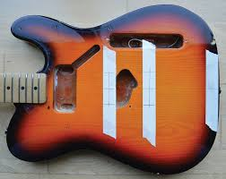 diy workshop tele renovation guitar com all things guitar pic 10 centre lines