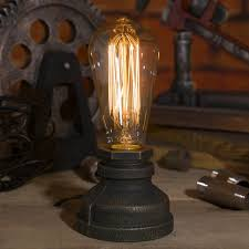 edison table lamp vintage home lighting. OYGROUP Industrial Iron Water Pipe Table Lamp Vintage Desk E27 Edison Bulb Lighting Parts For Bar Cafe Home Bedroom Study Studio Decor Without O