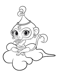 Shimmer And Shine Coloring Pages Coloring Girls Shimmer Shine