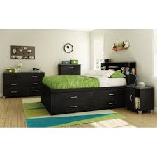 South Shore Bedroom Furniture South Shore Lazer Full Platform Customizable Bedroom Reviews