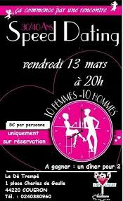 rencontre speed dating angers