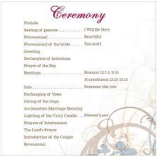 Basic Wedding Ceremony Wedding Ceremony Outline Wedding Ceremony