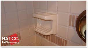 installing soap dish in tile shower