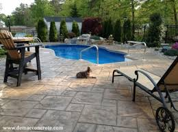 stamped concrete pool patio. Picture Of Stamped Concrete Pooldeck Opa Locka Pool Patio