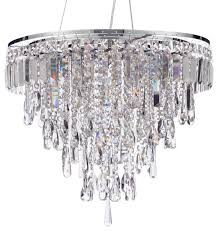 marquis by waterford bresna 6 light bathroom pendant chrome traditional pendant lighting by litecraft